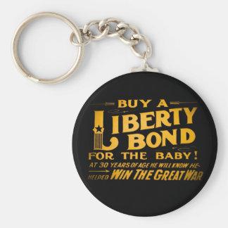 Compre un enlace de la libertad para la Primera Llavero Redondo Tipo Pin