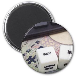 Compre yenes japoneses imán redondo 5 cm