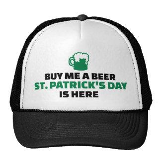 Cómpreme que el día de un St Patrick de la cerveza Gorro