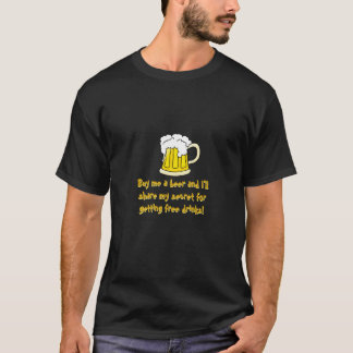 Cómpreme un lema divertido de la cerveza… playera
