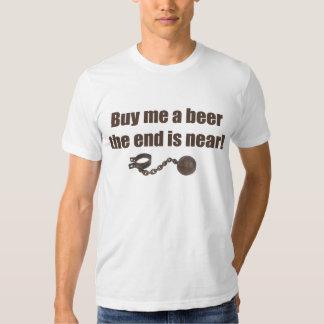 Cómpreme una camiseta de la cerveza remera