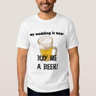 Cómpreme una despedida de soltero de la cerveza remera