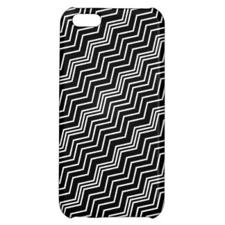 Comprensión blanca negra diagonal del zigzag itali