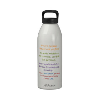 Comprensión de nuestra naturaleza humana botellas de agua reutilizables