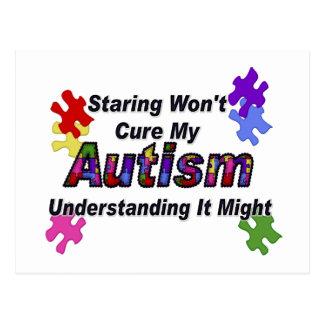 Comprensión del autismo tarjetas postales