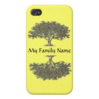 comprensión del iPhone 4 - árbol de familia iPhone 4 Funda