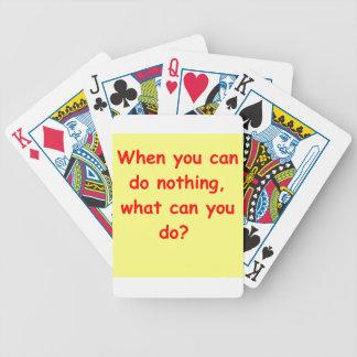 comprensión del zen baraja cartas de poker