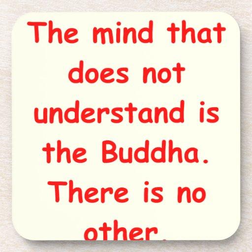 comprensión del zen posavaso