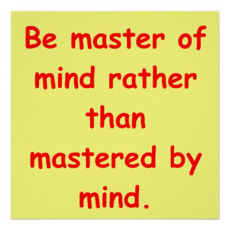 comprensión del zen póster