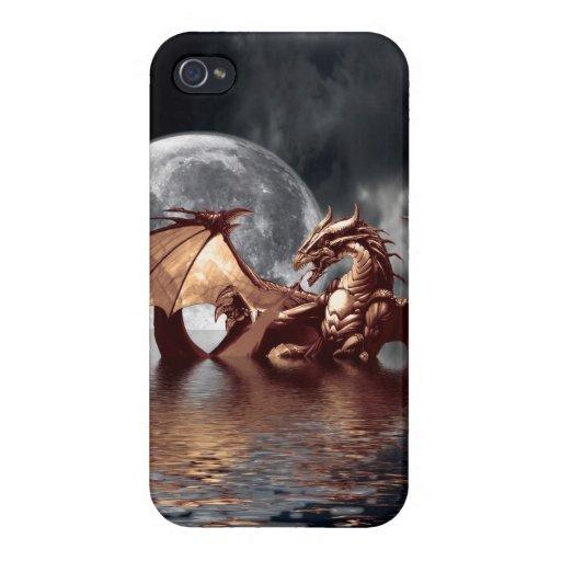 Comprensión mítica del iPhone 4 de la fantasía del iPhone 4/4S Funda