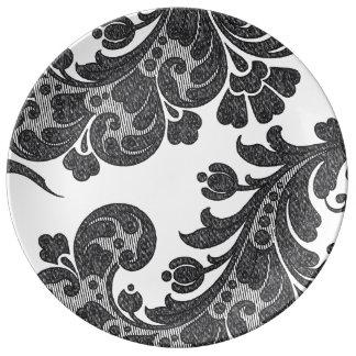 Comprensión modesta exuberante afortunada platos de cerámica