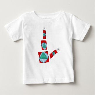 Compressed Colored Song Baby T-Shirt
