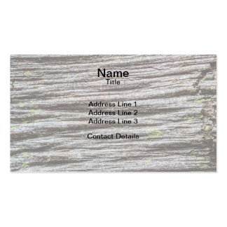 Compressed Wood Business Card