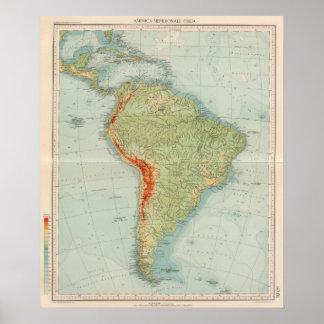 Comprobación de 14950 Suramérica Póster