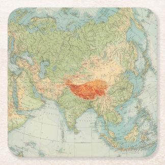 Comprobación de 8485 Asia Posavasos Desechable Cuadrado