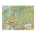 Comprobación europea 1112 tarjetas postales