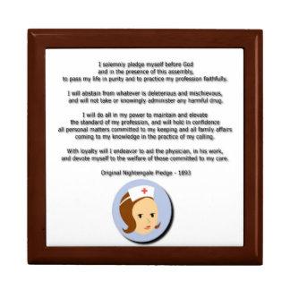 Compromiso de Florence Nightingale Caja De Recuerdo