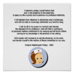 Compromiso de Florence Nightingale Posters