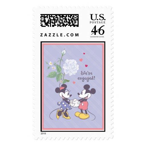 Compromiso de Mickey y de Minnie Sello