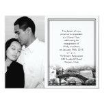 Compromiso del boda del destino de San Antonio Anuncio Personalizado