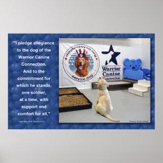 Compromiso del perrito de WCC Póster