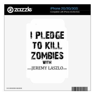 Compromiso Merch del zombi Calcomanías Para El iPhone 2G