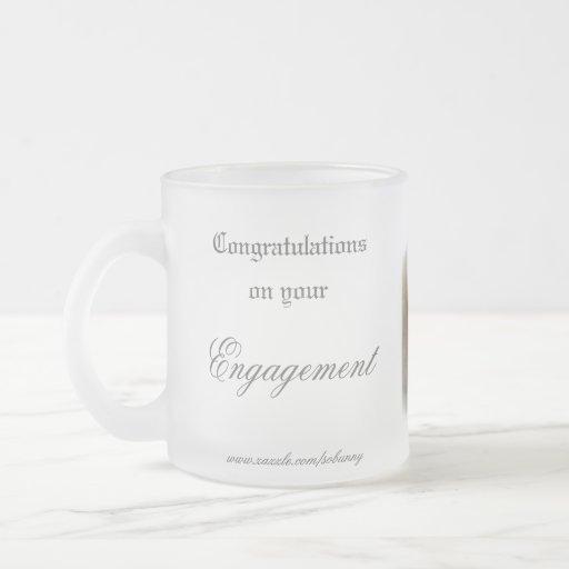 Compromiso - taza 10oz. del vidrio esmerilado