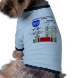 Compromisos de la 100a división aerotransportada camisa de perrito