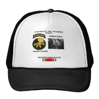 Compromisos de la 17ma división aerotransportada gorra