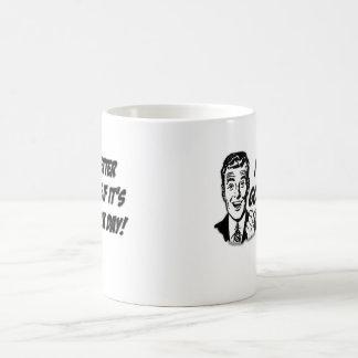 Compruebe el día taza clásica