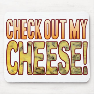 Compruebe hacia fuera el queso verde mousepad