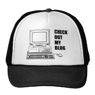 ¡Compruebe hacia fuera mi blog! Divertido Gorras De Camionero