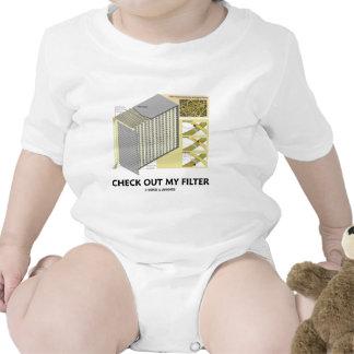 Compruebe hacia fuera mi filtro (la actitud del traje de bebé