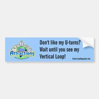 Compruebe hacia fuera mi lazo vertical etiqueta de parachoque