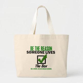 Compruebe la caja sea un donante de órganos 4 bolsa