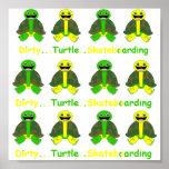 Compruebe las tortugas del control poster