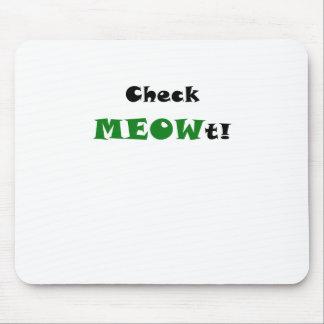 Compruebe Meowt Alfombrilla De Ratones
