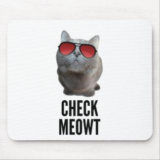 Compruebe Meowt Tapete De Raton