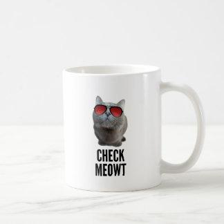 Compruebe Meowt Taza