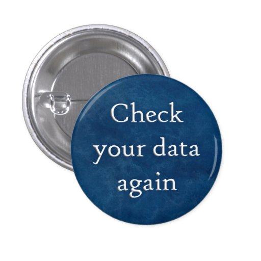 Compruebe su botón de los datos pin