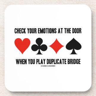 Compruebe sus emociones en la puerta cuando usted