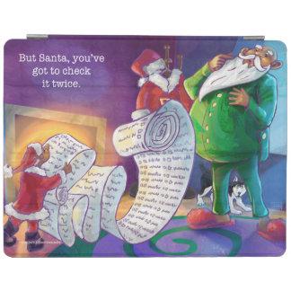 Compruébelo dos veces Santa Cover De iPad
