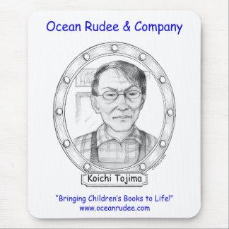 ¡Compruébelo hacia fuera!  Retrato de Koichi Tojim Alfombrilla De Raton