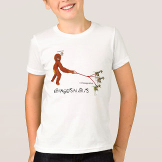 Compsognathus & Bonkey Monkey T-Shirt
