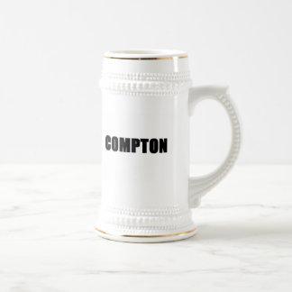 Compton (blanco) tazas