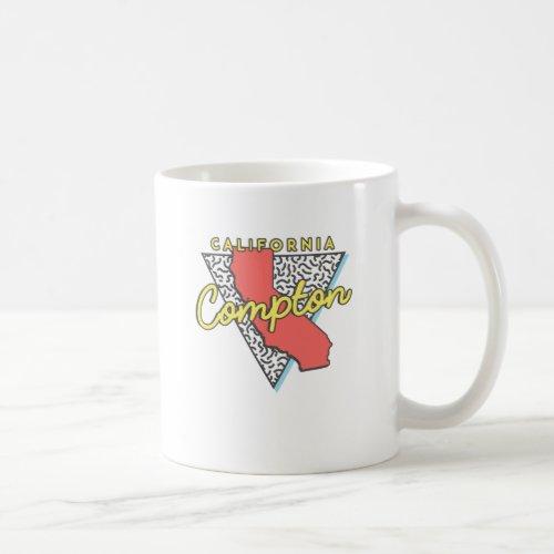 Compton California Retro Souvenir Coffee Mug