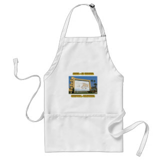 Compton Drive In Theater Adult Apron