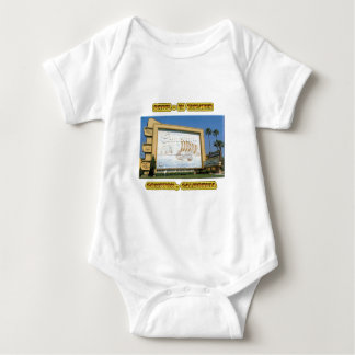 Compton Drive In Theater Baby Bodysuit