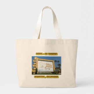 Compton Drive In Theater Large Tote Bag