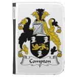 Compton Family Crest Kindle Folio Case